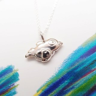 Bird Silver Necklace