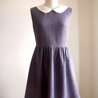 Vintage sleeveless dress - light purple