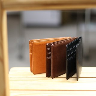 革職人 LEATHER FACTORY【Strain Money Clip Wallet / Bifold Wallet】Made in Japan