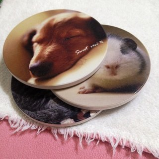 Customized hair child - ceramic absorbent coasters