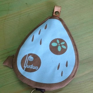 Little Raindrops love traveling ‧ key ring (khaki), but when the purse
