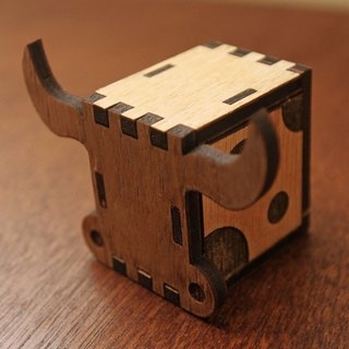 Kokomu OX DIY Music Box Kits. Wooden Music Box