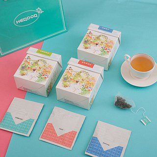 3 boxes of decaffeinated tea / Guobao tea + buckwheat tea + orange blossom camomile 【HERDOR tea】