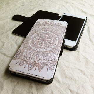 Original Mehendhi, - Designer,iPhone Wallet,Pattern iPhone wallet