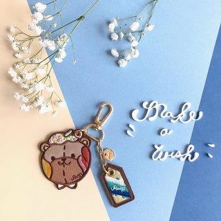 Amy's Leather Key Chain x Charm Eight Patterns