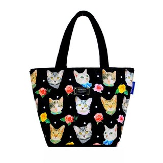 Fashion cats | small tote bag | bag | lunch box bags | canvas bags | spill-resistant design | portable packet