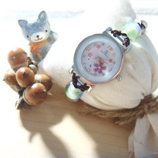 Grapefruit Forest Handmade Glass - Watches - Design Style - Love