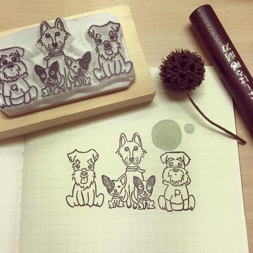 pet eraser stamp*handmade*rubber stamp*handmade stamp*hand carved customized