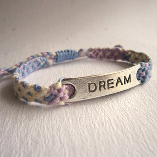 Full of dreams lucky rope woven bracelet (optional color)