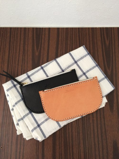 Minimaliste handmade leather wallets / card bag / purse