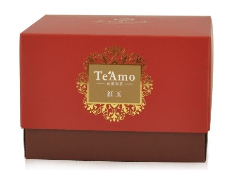 [Stores] Te'Amo black tea bags Box - Ruby - Taiwan Tea No. 18 (15 in)