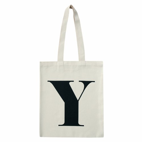Alphabet Bags Tote letter [Y] (the UK / free shipping)