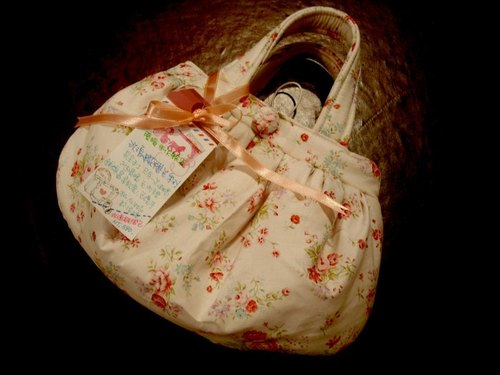 I ruffle bag series rose tenderness cute portable packet