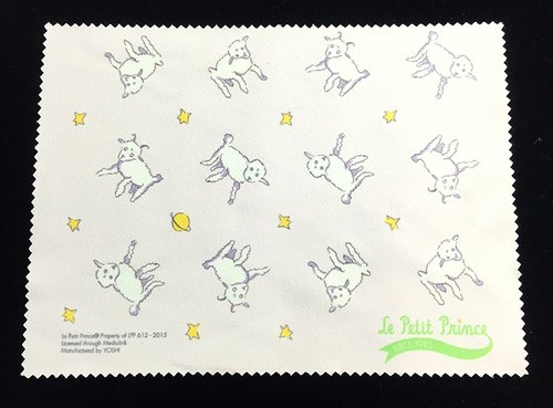 Little Prince authorized series - Sheep: superfine fiber optics lens cloth swab