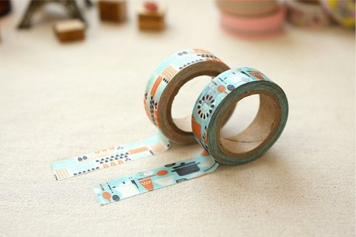 Dailylike and paper tape (2 into) 34-kamone dinner, E2D54517