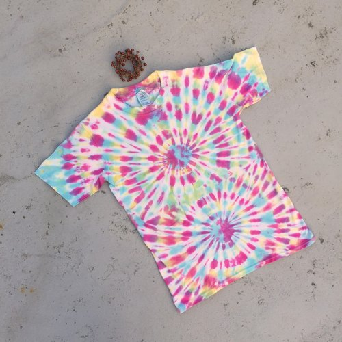 Tie dye/T-shirt/Garment/Men/Women