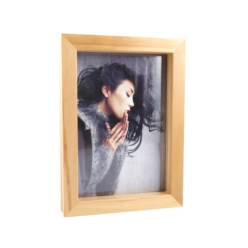 Two-sided Magnetic Wooden Frame-5X7