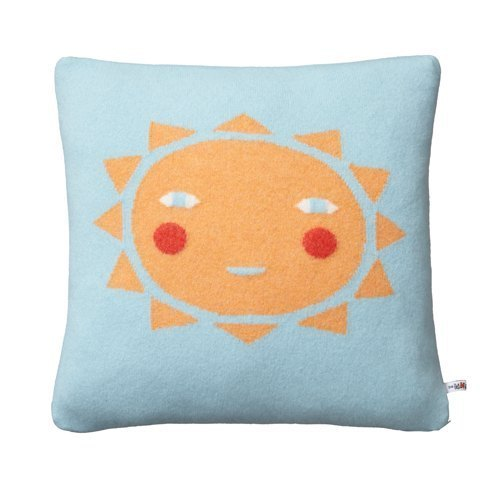 SUNSHINE pure wool pillow | Donna Wilson