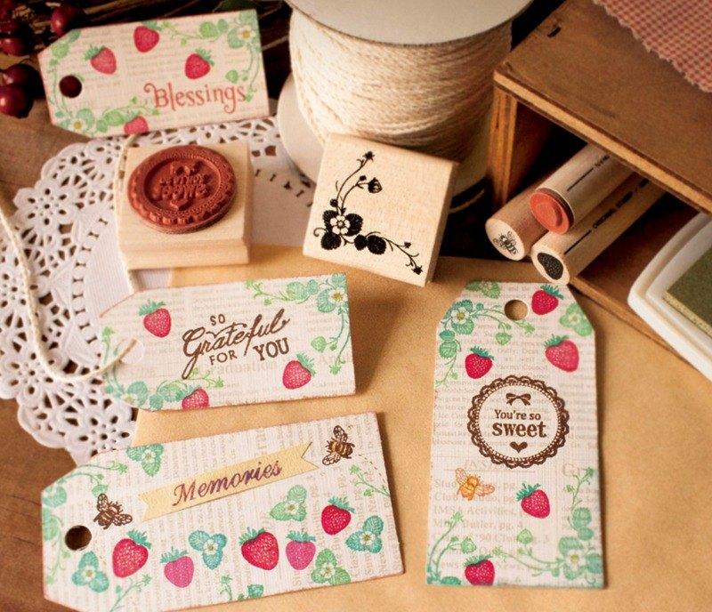 小花園印章組-草莓物語