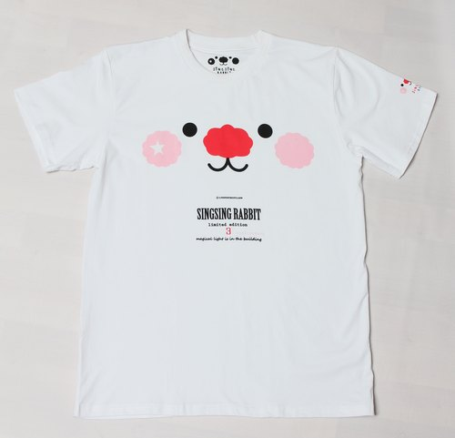 Third Anniversary Limited Edition Star Rabbit Tee White Face (White)