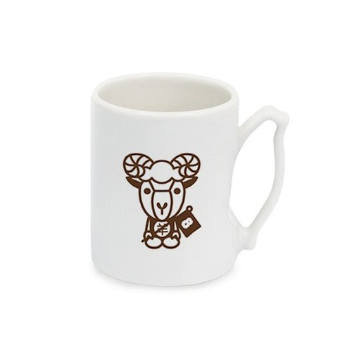 Zodiac tour Taiwan mug (single-entry) sheep