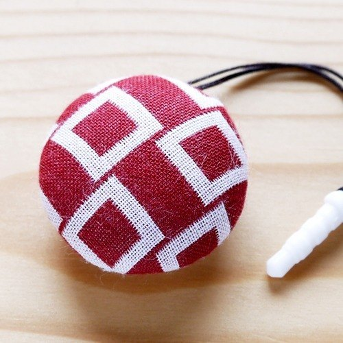 Healing system super cute wipe the screen / lens wipe - Headphone plug (small) - for iphone, and other major brand mobile phone