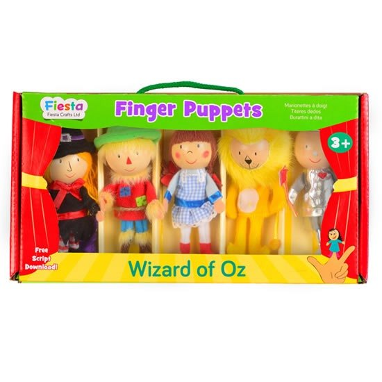 [UK Fiesta moving hands +] Wiz Creative Play Creative finger even toys (5 groups)