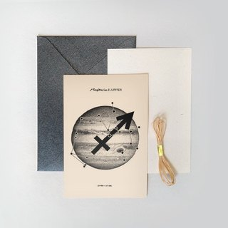 Constellation / Planet Series - Sagittarius / Sagittarius | Jupiter - Cards / Postcards