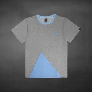 TIN colorful mosaic Tee - light blue - (M size only)