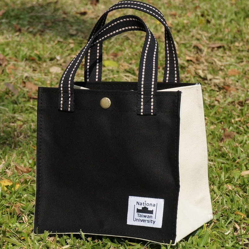 National Taiwan University Canvas Bag Quartet - Classic Black