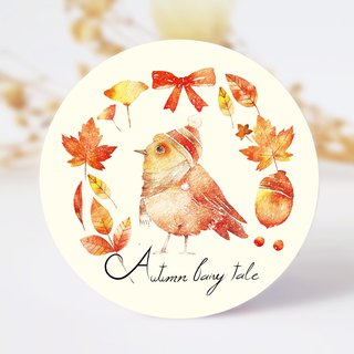 Autumn fairy paper tape