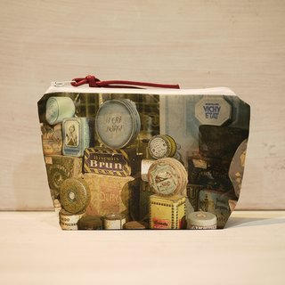 [Just travel] dumpling type cosmetic bag [life collector]
