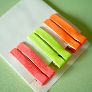 Hairpin fluorescent color: red / green / orange