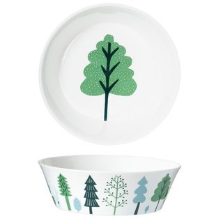 Forest Bone China Dinner Bowl - Large | Donna Wilson