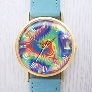 Colorful Ripple - Women's Watch / Men's Watch / Neutral Table / Accessories [Special U Design]