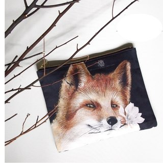Ancient spirit red fox custom clutch
