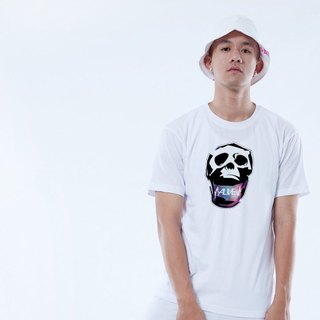 "Icarus ICARUS original fashion design short TEE SKULL Skull series - ""ALIVE rebirth"""