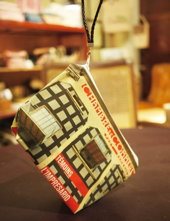 [Good] portable travel cosmetic bag ◆ ◇ ◆ large to fit in Lyon landscape ◆ ◇ ◆
