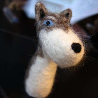[Wool felt - Customized Huskies]