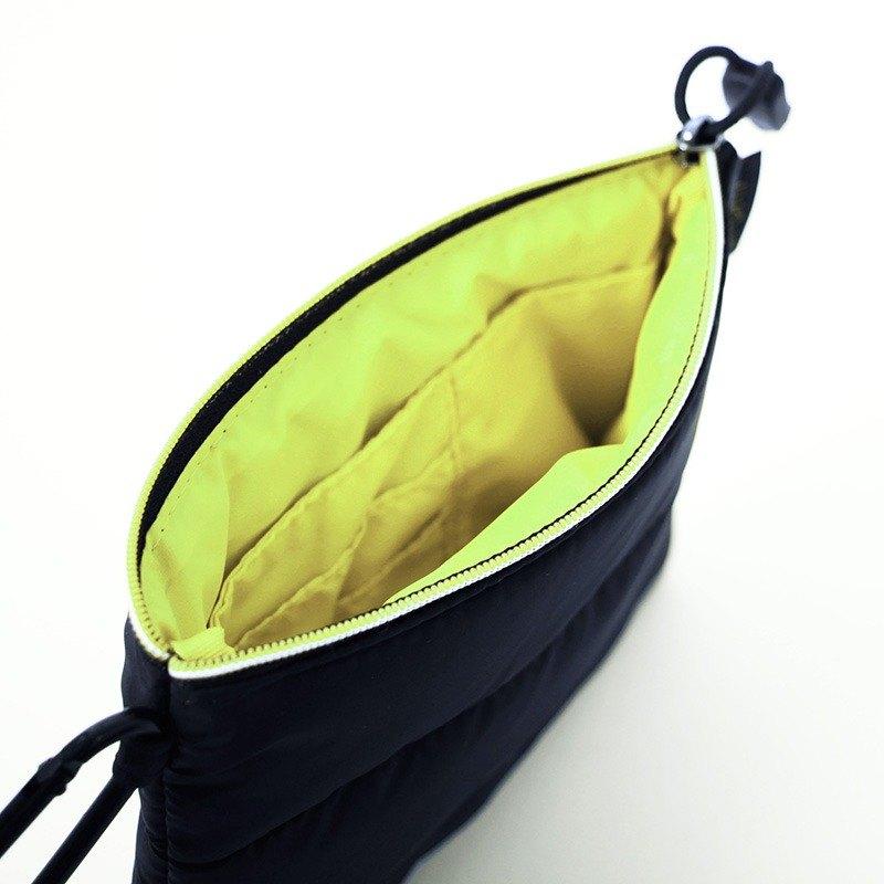證件護照包.黑╳黃