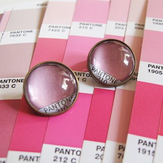 PANTONE 210 swatches circular ear clip ear acupuncture