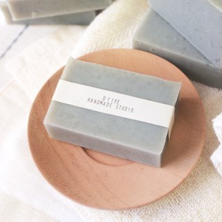 Grey North / glacier mud soap