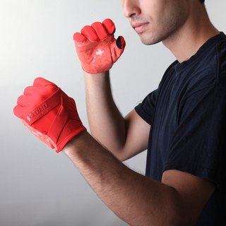"""NINJA NINJA"" long finger cycle glove-deluxe"