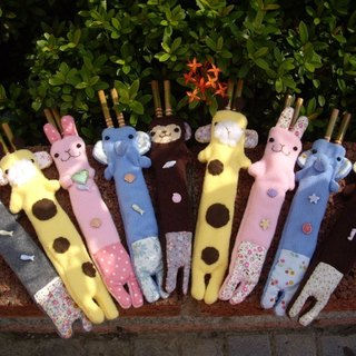 Cute animal eco-chopsticks set (you can put a pair of chopsticks), with chopsticks