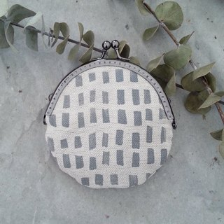 Moshimoshi | Coin Purse - Grey Square