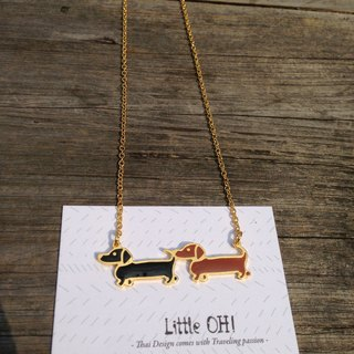 Dachshund friends mini choker