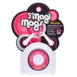 3+ MagiMags Magnetic Tape    19mm x 3M Classic.Red
