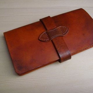 ISSIS - IPhone 6/6S Plus Flip Leather Handmade Leather Case