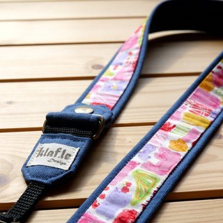 Fun season (Navy) - Le Ke Leifu detachable strap - can withstand the weight of SLR