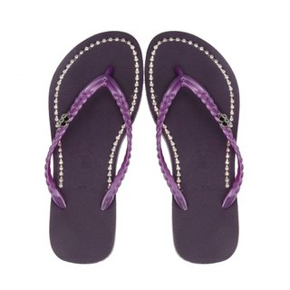 QWQ Creative Design Flip-Flops - Mysterious Purple [BB0031503]